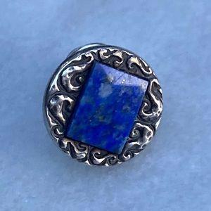 High Quality Lapis Lazuli 925 Tie Tack